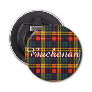 Buchanan clan Plaid Scottish tartan Bottle Opener