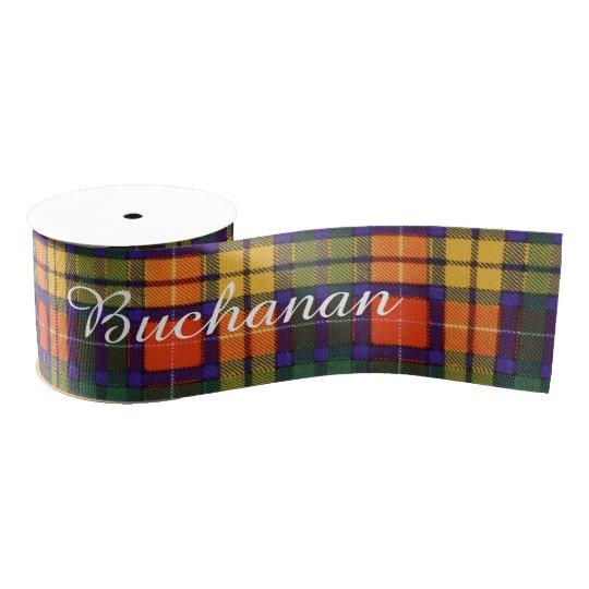 Buchanan clan Plaid Scottish tartan Grosgrain Ribbon