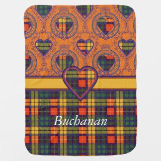 Buchanan clan Plaid Scottish tartan Pramblankets