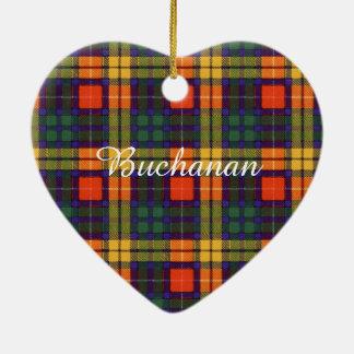 Buchanan Family clan Plaid Scottish kilt tartan Christmas Ornament