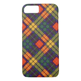 Buchanan Family clan Plaid Scottish kilt tartan iPhone 8/7 Case