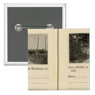 Buchanan, New York 15 Cm Square Badge