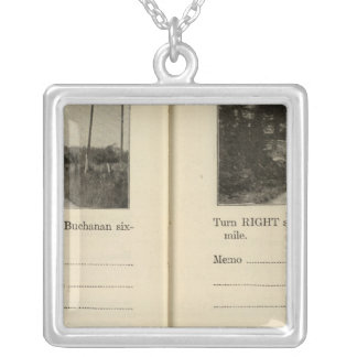 Buchanan, New York Silver Plated Necklace