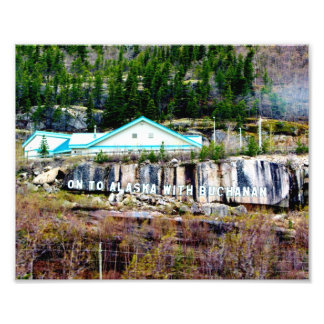 Buchanan Rock Alaska Photo Art