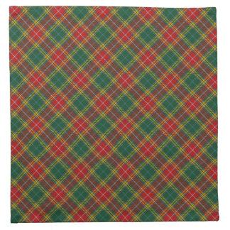 Buchanan Scottish Clan Tartan Napkins