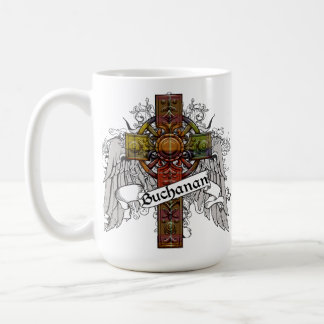 Buchanan Tartan Cross Coffee Mug