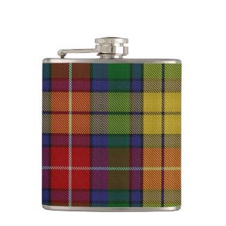 Buchanan Tartan Flask
