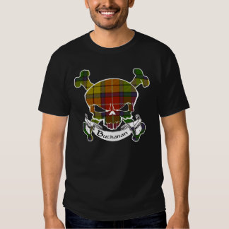 Buchanan Tartan Skull Shirt