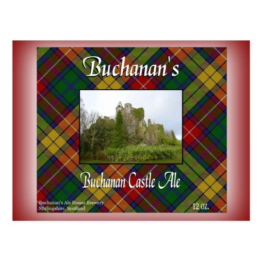 Buchanan's Buchanan Castle Ale Postcard