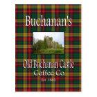 Buchanan's Old Buchanan Castle Coffee Co. Postcard