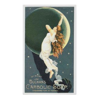 Buchan's Carbolic Soap Poster