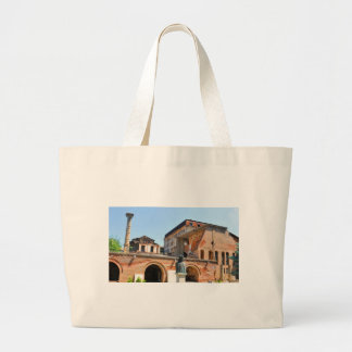 Bucharest, Romania Large Tote Bag
