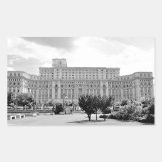 Bucharest, Romania Rectangular Sticker