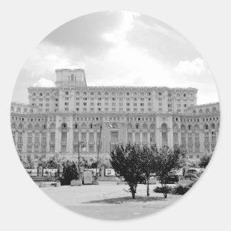 Bucharest, Romania Round Sticker