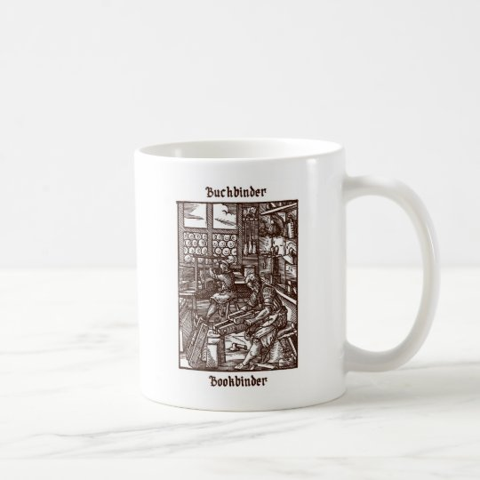 Buchbinder - Bookbinder Coffee Mug