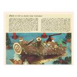 Buche de Noel, Christmas log Post Cards