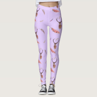 Buck and Feathers Leggings
