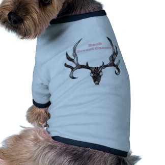 Buck Breast Cancer Dog Tee Shirt