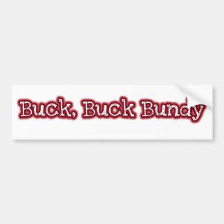 Buck Bumper Sticker