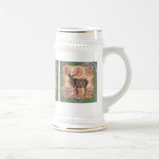 Buck Deer Beer Stein Coffee Mug