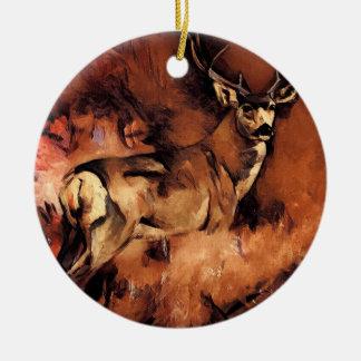 Buck Deer Ornament
