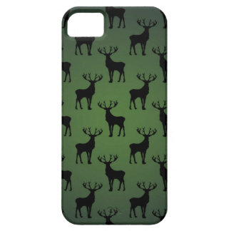Buck Deer Pattern on Green Case For The iPhone 5