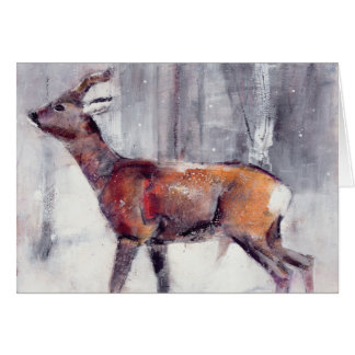 Buck in the snow 2000 card