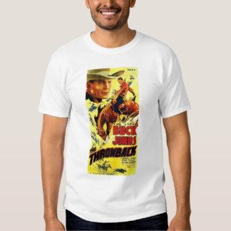 Buck Jones 1935 vintage movie poster T-shirt
