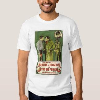 Buck Jones The Big Punch 1921 silent film T Shirts