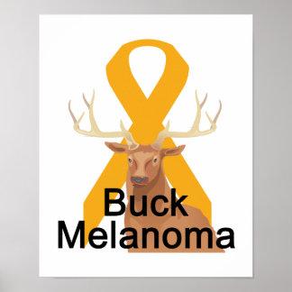 Buck Melanoma Poster