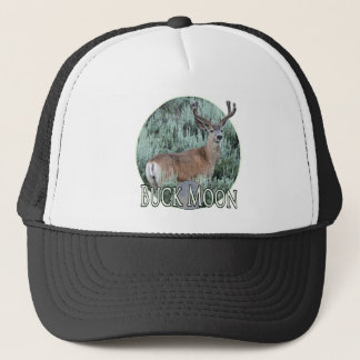 Buck moon trucker hat