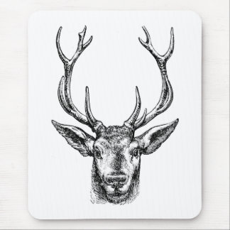 Buck of a Deer Mouse Pad
