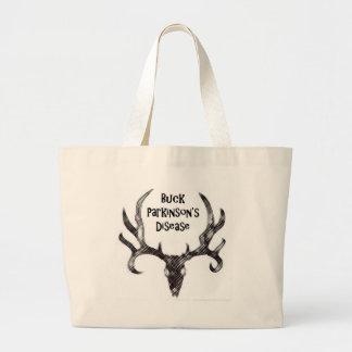 Buck Parkinson's Disease Tote Bag