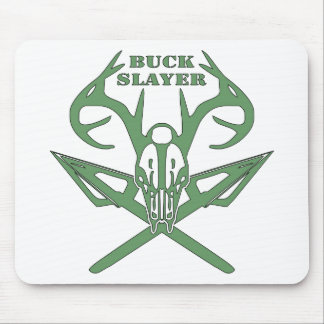 Buck Slayer Deer & Arrows Mousepads