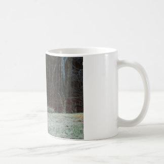 Buck Stag Deer, Marking his Ground Basic White Mug