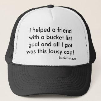 Bucker cap