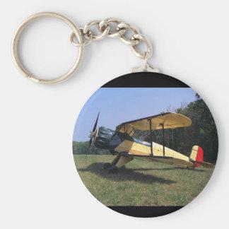 Bucker, Jungmann, 1961, St_Classic Aviation Key Ring