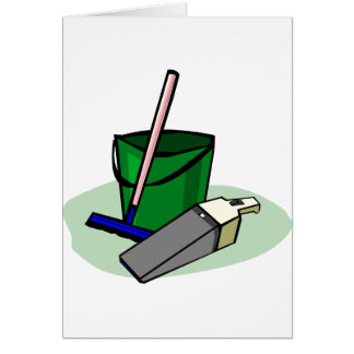 bucket-3032 greeting card