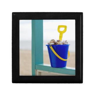 Bucket Filled With Seashells Gift Box