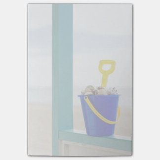Bucket Filled With Seashells Post-it Notes