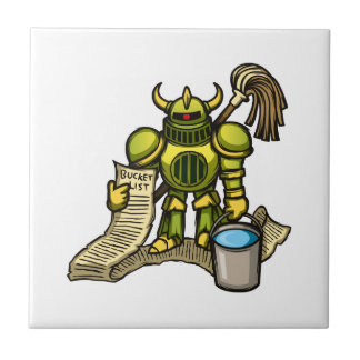 Bucket Knight Tile