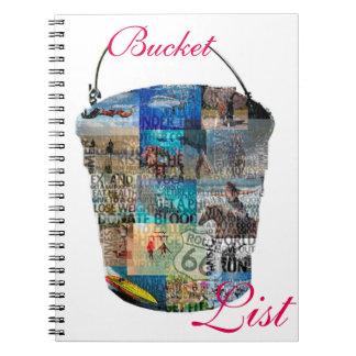 Bucket List Spiral Notebook