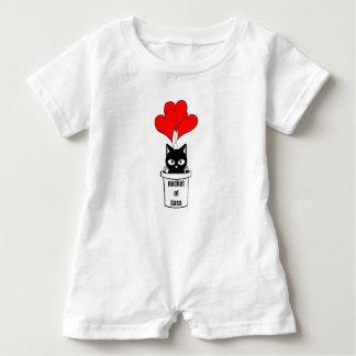 Bucket of Sass-Kitty Baby Romper Baby Bodysuit