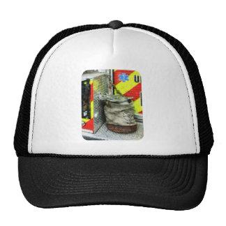Bucket on Fire Truck Mesh Hats