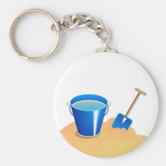 Bucket Spade Keychains