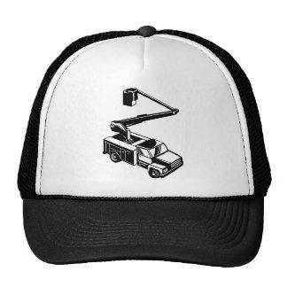 bucket truck cherry picker retro mesh hat
