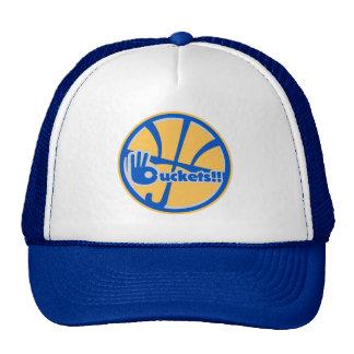 buckets umbrella logo trucker hat