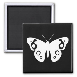 Buckeye Butterfly Square Magnet