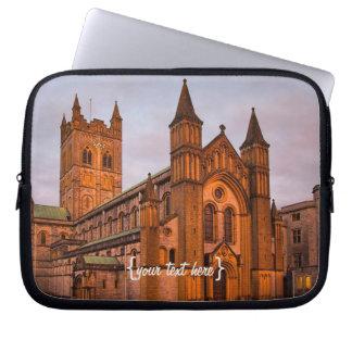 Buckfast Abbey at Sunset Laptop Sleeve