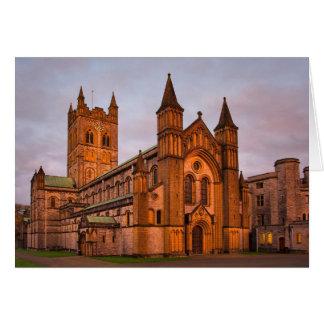 Buckfast Abbey blank notelet / card